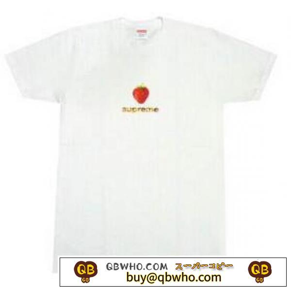 優しい素材感のシュプリーム機能性が高いTシャツホワイト.5672円