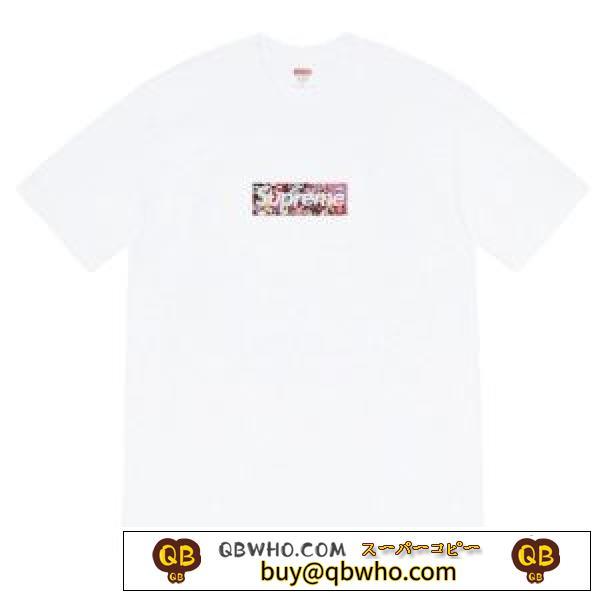 シュプリーム 2色可選 春夏に最も需要のある SUPREME 大人スタイリッシュ 半袖Tシャツ VIPセールで驚き
