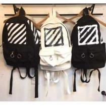 オフホワイト OFF-WHITE ◆モデル愛用◆ 2020春夏 リュック 2色可選 18407円